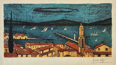 Bernard Buffet, 'St. Tropez et Les Voiliers (St. Tropez and the Sailboats)', 1979