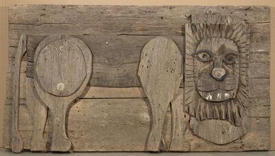 Bernard Langlais, 'Lion', ca. 1976