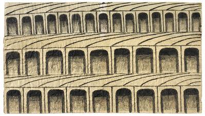 Martín Ramírez, 'Untitled (Arches)', 1960-1963