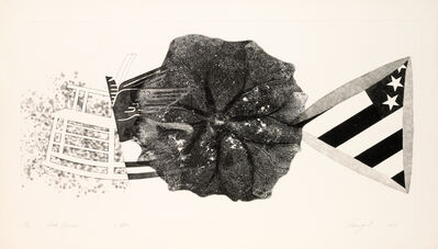 James Rosenquist, 'Black Triangle (State II)', 1978