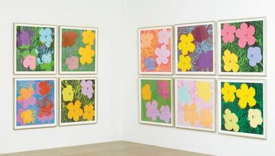 Andy Warhol, 'Flowers (Portfolio of 10) (F. & S. II 64-73)', 1970