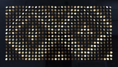 Peter Monaghan, 'Black and Gold Diamonds', 2020