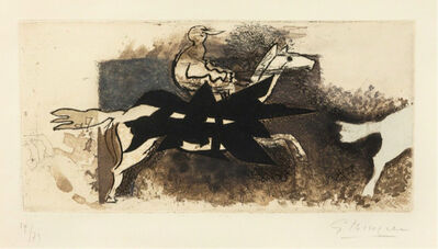 Georges Braque, 'Le Jockey', 1954