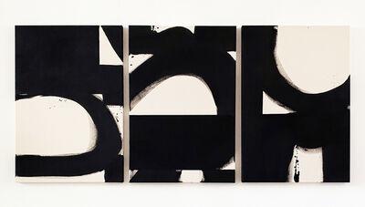 Liza Giles, 'Black & White triptych (composition I)', 2020