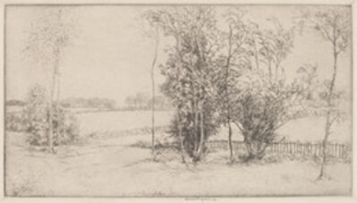 Donald Shaw MacLaughlan, 'Sussex Landscape', 1920