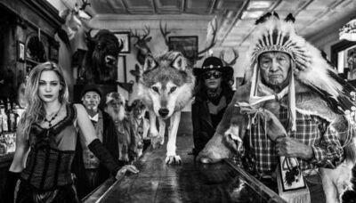 David Yarrow, 'Crazy Horse', 2017