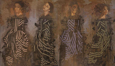 Tarik Berber, 'Dancing widows', 2016