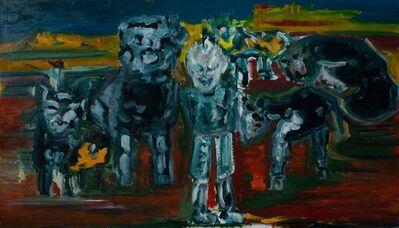 Artem Diatyan, 'Noah and the animal kingdom '
