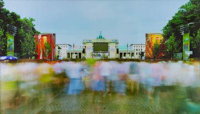 Michael Wesely, ' Ghana, Fenmeile Berlin  ', 2010