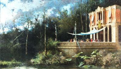 Vincenzo Scala, 'On the Palace', 1870