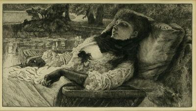 James Jacques-Joseph Tissot, 'Soirée d'été (Summer Evening)', 1881