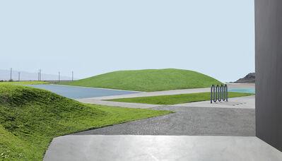 Lauren Marsolier, 'Landscape With Lawn', 2015