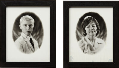 Cindy Sherman, 'Untitled (Doctor and Nurse diptych)', 1980-1987