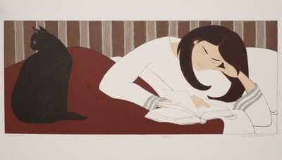Will Barnet, 'The Reader', 1979