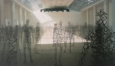 Antony Gormley, 'Domain Field (signed)', 2003