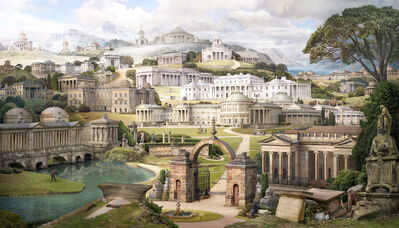 Emily Allchurch, 'Grand Tour II: Homage to Soane (after Gandy) ', 2017