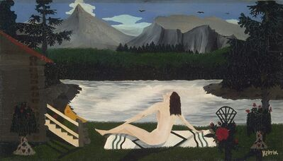 Horace Pippin, 'Lady of the Lake', ca. 1936–1939