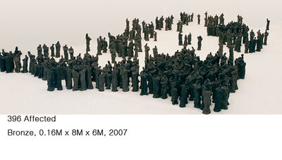 Won Lee, '396 Affected', 2008