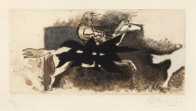 Georges Braque, 'Le Jockey', 1954