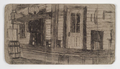 James Castle, 'Untitled (porch and door)', n.d