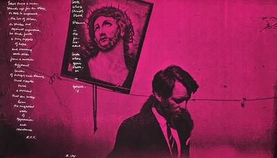 Corita Kent, 'In Memory of RFK, Photograph by Fred W. McDarrah', 1968