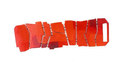 Kat Cole, 'Flat Bracelet in Red and Orange', 2017