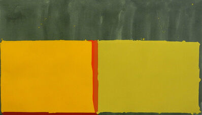 John Hoyland, 'Yellows', 1969