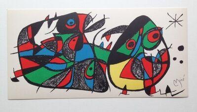 Joan Miró, 'Miro Sculptor Italy', 1974