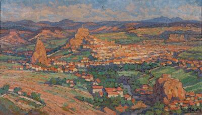 Gabriel Moiselet, 'Vue panoramique du Puy-en-Velay'