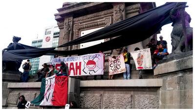 Gustavo Speridião, 'Ayotzinapa Vive!,Cidade do México,2014', 2015