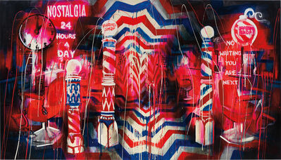 Rosson Crow, 'Barber Shop', 2009 -2010