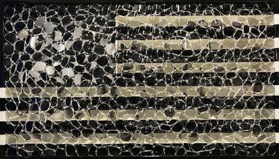 David Datuna, 'Black USA Flag', 2016