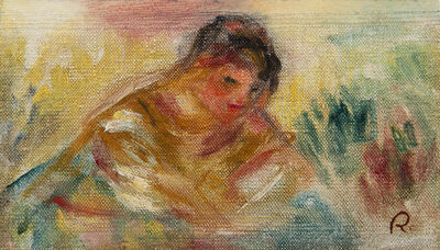 Pierre-Auguste Renoir, 'Buste de femme', Unknown