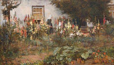 Frans Oerder, 'In die Blomtuin'
