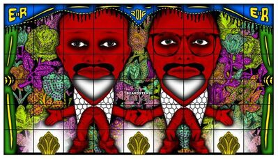 Gilbert and George, 'BEARDSTERS', 2016