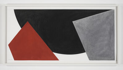 David Tremlett, '3 Forms in Space #2', 2008