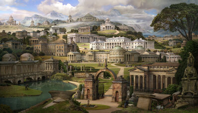 Emily Allchurch, 'Grand Tour II: Homage to Soane (after Gandy)', 2017