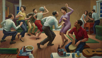 Thomas Hart Benton, 'The Twist', 1963