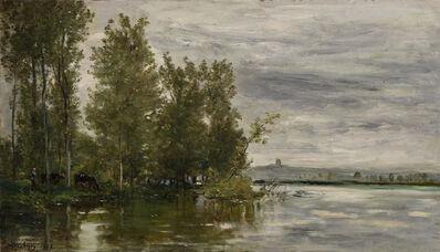 Charles François Daubigny, 'L'Inondation', 1875