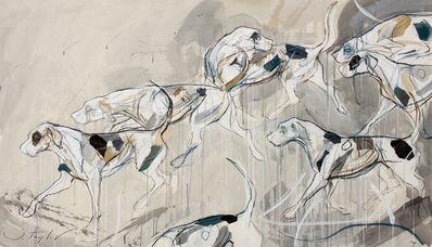 Jo Taylor (b. 1969), 'Hounds', 2019