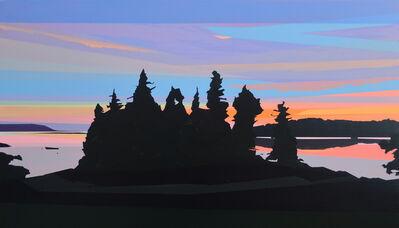 Greta Van Campen, 'Sunset off Old Harbor Road', 2021