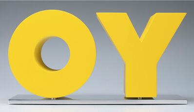 Deborah Kass, 'OY / YO', 2011