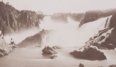 Marc Ferrez, 'Paulo Afonso Falls, Bahia Province', 1875