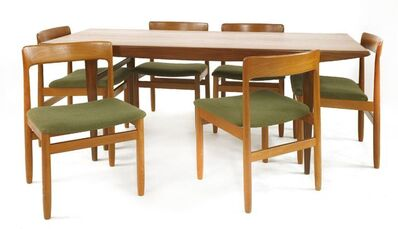 Youngers, 'A teak dining room suite'