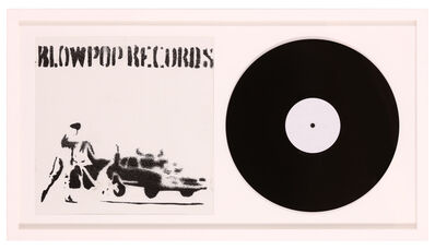 Banksy, 'Blowpop Records', 1999