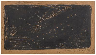 Lucio Fontana, 'Concetto spaziale', 1951