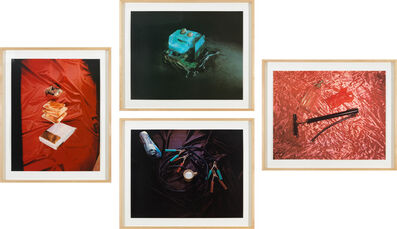 Ed Ruscha, 'Sweets, Meats, Sheets; Closed; Air, Water, Fire; and Open from Tropical Fish Series', 1975