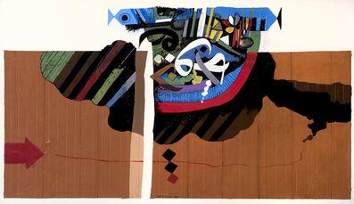 Dia Azzawi, 'Arabic Letter no.1', 1980