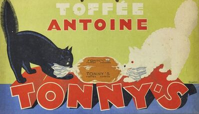 René Magritte, ''Toffee Antoine Tonny's' advert', 1931