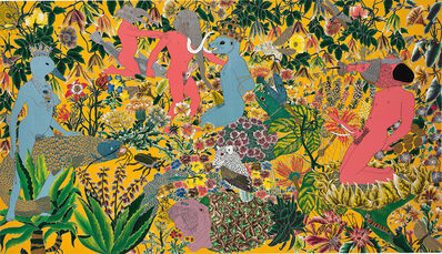 Raqib Shaw, 'After the Garden of Earthly Delights - Hieronymus Bosch', 2002